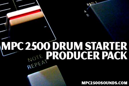 Akai MPC 2500 Samples, drum starter producer pack