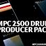 Akai MPC 2500 Samples, drum samples producer pack