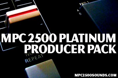 Akai MPC 2500 Samples, platinum producer pack